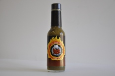 Hot Sauce Label: Climate Chaos