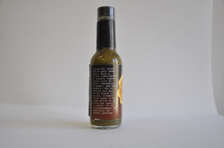 "Description: ""A good hot sauce should pack some heat...With a killer combination of chaotic ingredients such as ghost, habanero, jalapeño, and bell peppers, not to mention our own secret blend of spices, Climate Chaos takes this expectation to a whole new level - in short, it is singlehandedly responsible for global warming."""